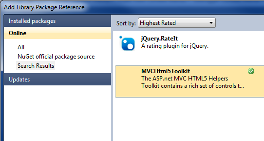 Nuget Package Source