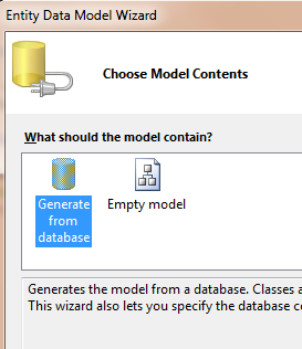 Generate from Database