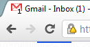 Gmail Favicon Notification